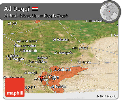 Free Satellite Panoramic Map of Ad Duqq