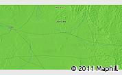 Political 3D Map of Al Jafr