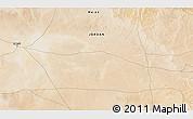 Satellite 3D Map of Al Jafr