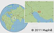 "Savanna Style Location Map of the area around 30°13'46""N,51°4'30""E"