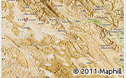 "Satellite Map of the area around 30°13'46""N,51°4'30""E"