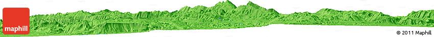 "Political Horizon Map of the Area around 30° 13' 46"" N, 51° 55' 29"" E"