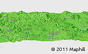 """Political Panoramic Map of the area around 30°13'46""""N,51°55'29""""E"""