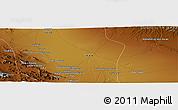 Physical Panoramic Map of Nāranj