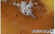 Physical Map of Ābdān Anjīr