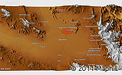"""Physical 3D Map of the area around 30°13'46""""N,57°1'29""""E"""