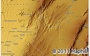 """Physical Map of the area around 30°13'46""""N,66°22'30""""E"""