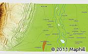 Physical 3D Map of Dera Ghāzi Khān