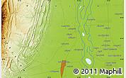 Physical Map of Dera Ghāzi Khān