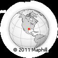 Outline Map of Kenney, rectangular outline