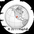 Outline Map of Corralitos, rectangular outline