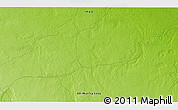 """Physical 3D Map of the area around 30°42'29""""N,45°7'30""""E"""