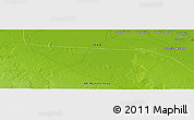 "Physical Panoramic Map of the area around 30° 42' 29"" N, 45° 58' 30"" E"