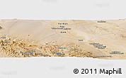Satellite Panoramic Map of Aḩmadābād-e Da'feh
