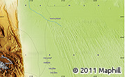 """Physical Map of the area around 30°42'29""""N,57°52'30""""E"""