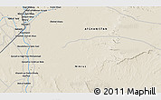 Shaded Relief 3D Map of `Abd ol Raḩmān Ya`qūb