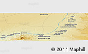 """Physical Panoramic Map of the area around 30°42'29""""N,63°49'30""""E"""