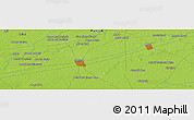 """Physical Panoramic Map of the area around 30°42'29""""N,73°10'30""""E"""