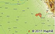 Physical Map of Kūrāli