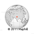 Outline Map of World Trade Centre Project, Mohali, rectangular outline