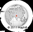 Outline Map of Khamānon, rectangular outline