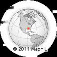Outline Map of Avalon Beach, rectangular outline