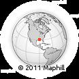Outline Map of Par Road 390, rectangular outline