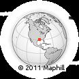 Outline Map of Maringouin, rectangular outline