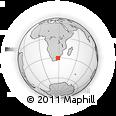 Outline Map of Moyeni Camp, rectangular outline