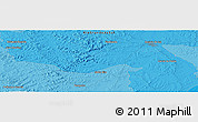 """Political Panoramic Map of the area around 30°23'20""""S,55°10'29""""W"""