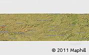 "Satellite Panoramic Map of the area around 30°23'20""S,56°1'29""W"