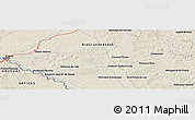 """Shaded Relief Panoramic Map of the area around 30°23'20""""S,56°1'29""""W"""