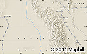 """Shaded Relief Map of the area around 30°23'20""""S,67°55'30""""W"""