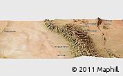 "Satellite Panoramic Map of the area around 30°23'20""S,67°55'30""W"