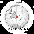 Outline Map of Walcha, rectangular outline