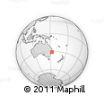 Outline Map of Macksville, rectangular outline