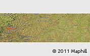 Satellite Panoramic Map of Policarpo Duarte