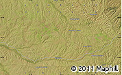 Satellite Map of Paguero
