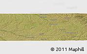 Satellite Panoramic Map of Poblado Guaviyú