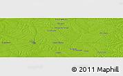 Physical Panoramic Map of Moreira