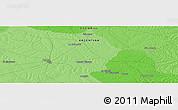 Political Panoramic Map of Moreira