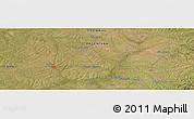 Satellite Panoramic Map of Moreira