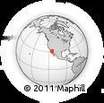 Outline Map of San Felipe, rectangular outline