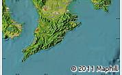 Satellite Map of Nakayoshi