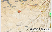 "Satellite Map of the area around 31°11'6""N,34°55'29""E"