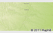 """Physical 3D Map of the area around 31°11'6""""N,3°28'30""""E"""