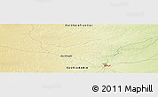 Physical Panoramic Map of `Ar`ar