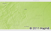 """Physical 3D Map of the area around 31°11'6""""N,43°25'29""""E"""