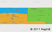 """Political Panoramic Map of the area around 31°11'6""""N,47°40'29""""E"""