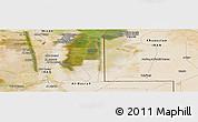 "Satellite Panoramic Map of the area around 31°11'6""N,47°40'29""E"